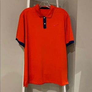 Nike dry fit polo size large